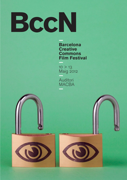 постер Barcelona Creative Commons Film Festival