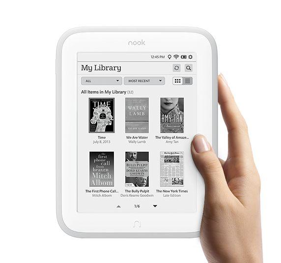 Barnes & Noble представила обновленную модель ридера — Nook Glowlight
