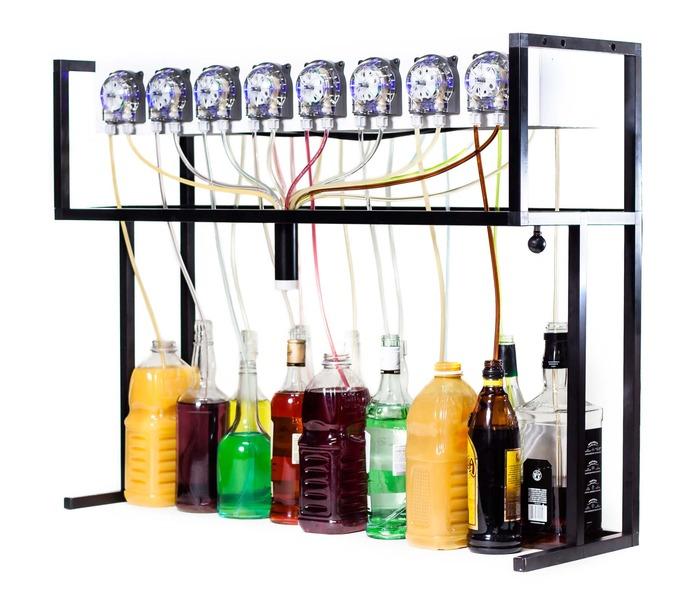 Bartendro на Kickstarter: робот бармен на Raspberry Pi