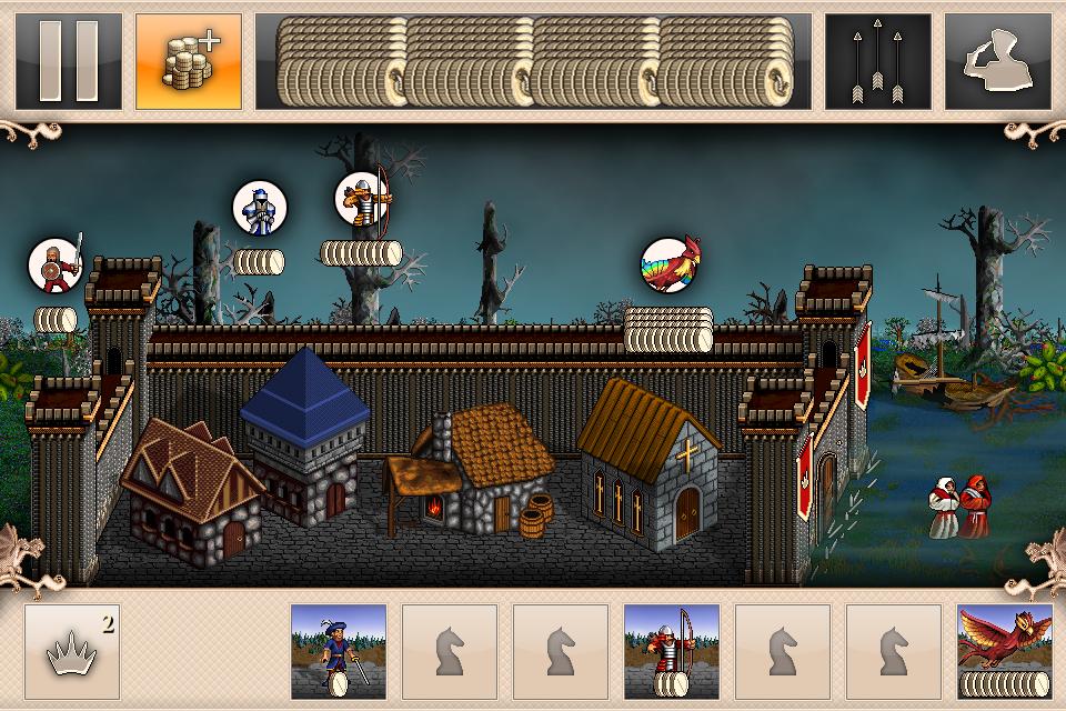 Battlehorn — castle defense от создателей Palm Kingdoms