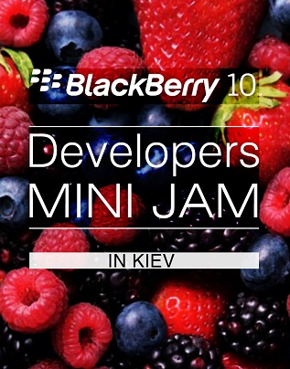 BlackBerry MiniJam в Киеве 28 го мая