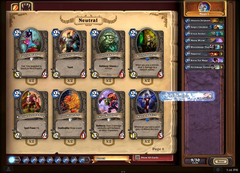 Blizzard идет на мобильный рынок — «Hearthstone: Heroes of Warcraft» летом на iPadах