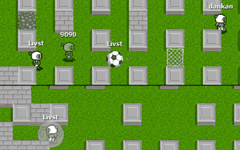 Bomberman Online и хабраэффект — 450 игроков на одной карте. Отчёт и детали игрового движка