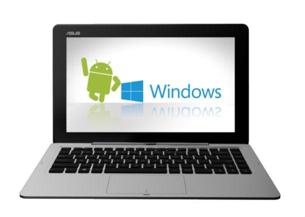 CES2014: Ноутбук трансформер с двумя OS от ASUS