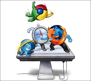 Chrome впервые обошел Explorer по недельной популярности