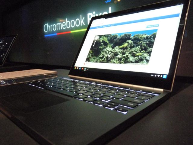 Chromebook Pixel вышел — цена от $1299