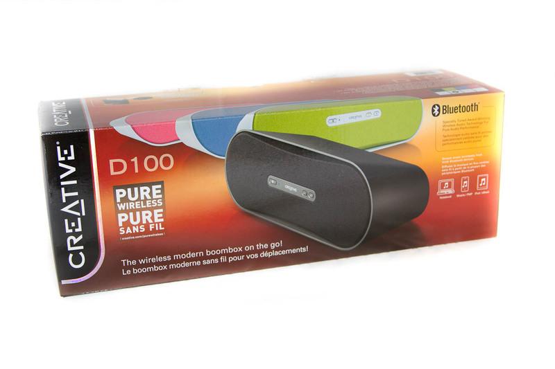Creative D100 — мобильная акустическая система