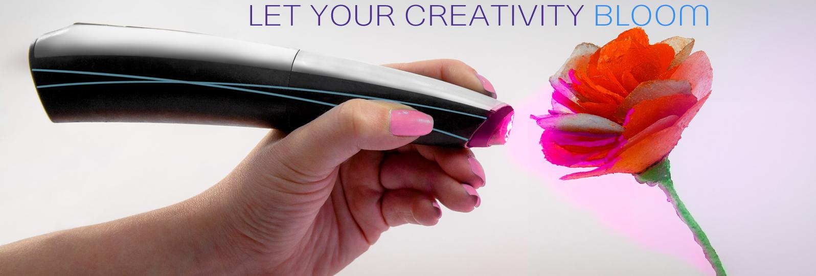 Creopop: ручной 3D принтер с холодной «печатью»