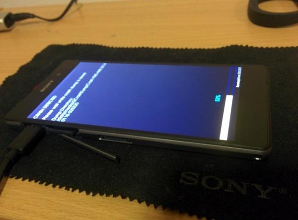 Cтали доступны изображения пользовательского интерфейса устройства Sony D6503
