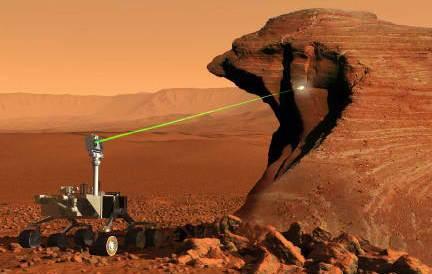 Curiosity готов сдвинуться с места, сегодня ночью испытали лазер