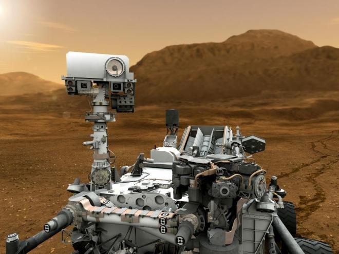 Curiosity мог завезти на Марс земные микроорганизмы