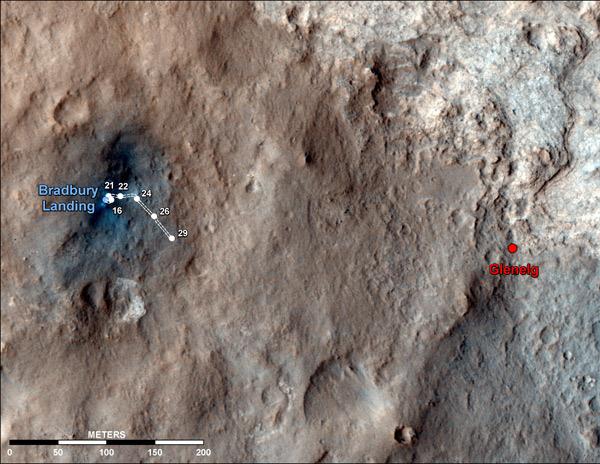 Curiosity поставил личный рекорд скорости