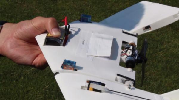 DALER: и ползает и летает (аппарат с дистанционным управлением)
