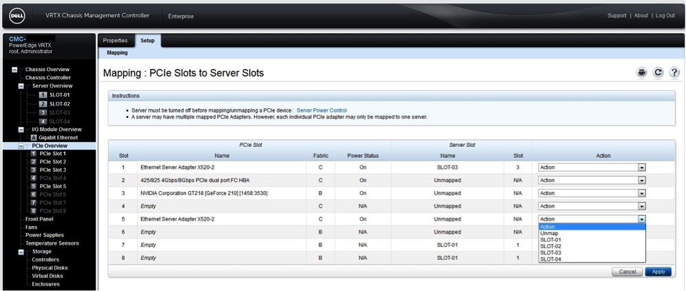 Dell VRTX: первые шаги