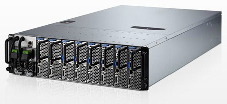 Dell использует 22-нанометровые процессоры Xeon в микро-серверах PowerEdge C5220
