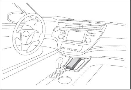 Denso объявила о разработке первого в мире устройства для беспроводной зарядки смартфонов в автомобиле