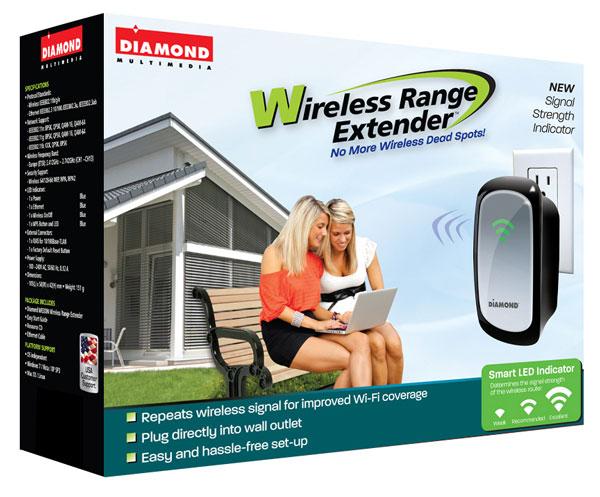 Устройство Diamond Multimedia WR300NSI оснащено индикатором уровня сигнала беспроводной сети