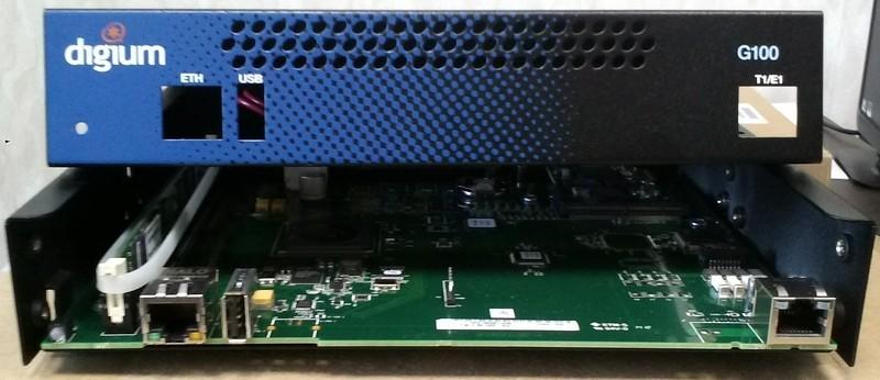 Digium G100 / G200 E1/T1/PRI маршрутизатор