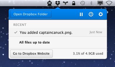 Dropbox обновил интерфейс