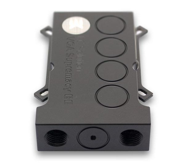 EK Water Blocks выпускает универсальный водоблок для 3D-карт EK-VGA Supremacy Bridge Edition