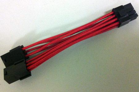 EVGA будет комплектовать некоторые 3D-карты кабелями-переходниками питания в оплетке