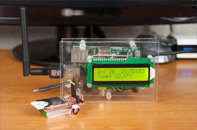Electric Imp — Делаем WiFi термометр