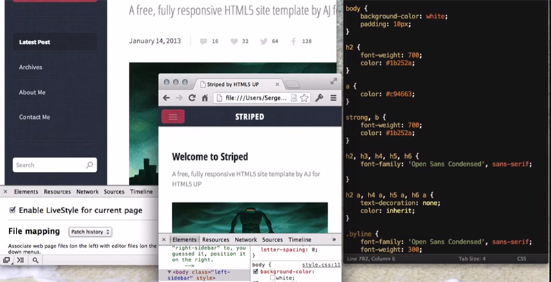 Emmet LiveStyle — инструмент для удобной front end разработки