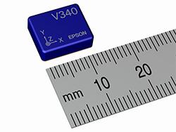 Специалисты Epson создали инерциальный измерительный модуль M-V340 массой менее грамма