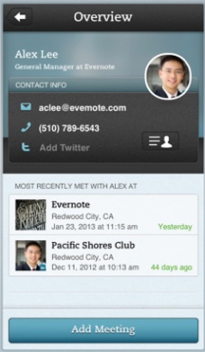 Evernote Hello как возможность заглянуть в будущее Evernote
