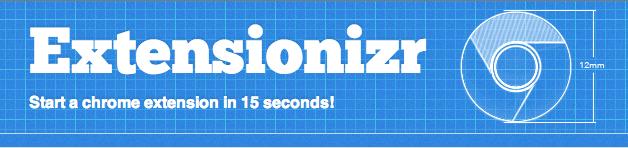 Extensionizr — шаблонизатор дополнений для хрома
