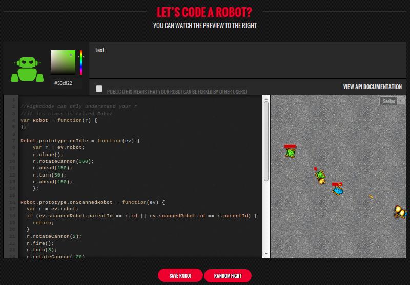 FightCode: танковые войны на JavaScript
