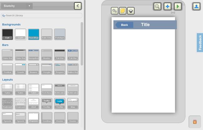 Fluid UI: рисование мобильных интерфейсов