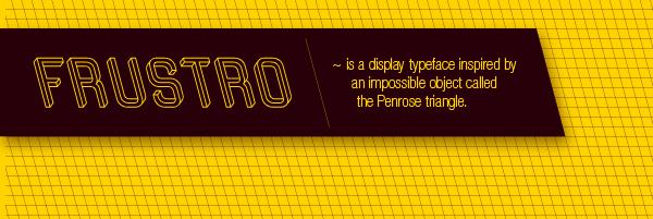 Frustro: невозможный шрифт