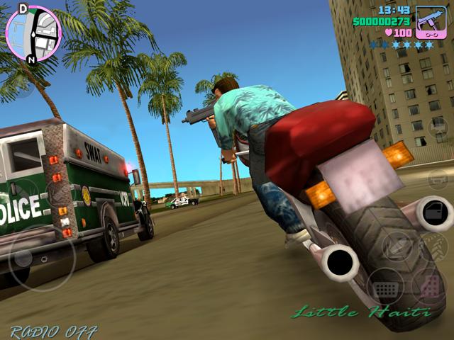 GTA: Vice City пришёл на iOS и Android