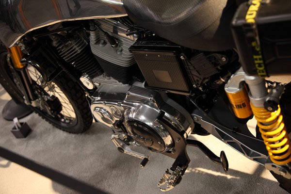 Carducci использует технологии Nvidia, проектируя мотоциклы