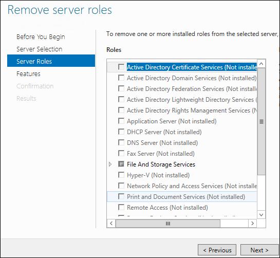 GUI, не GUI — или как включить и отключить графический интерфейс в Windows Server 2012