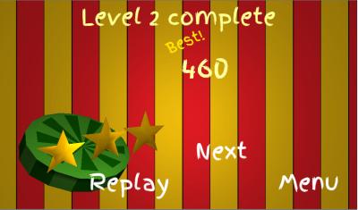 Победное завершение уровня