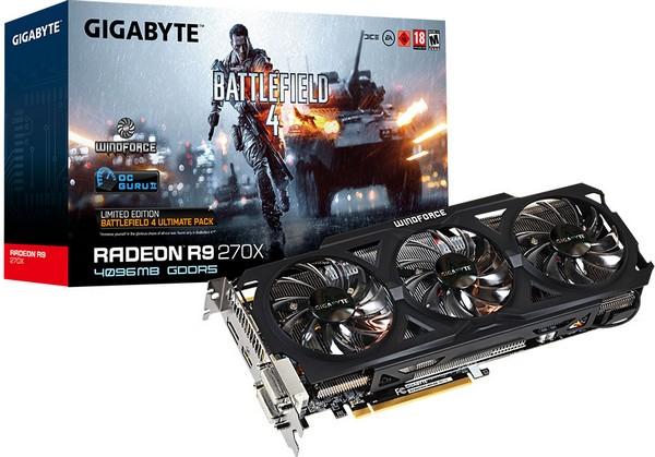 Gigabyte Radeon R9 270X 4 ГБ