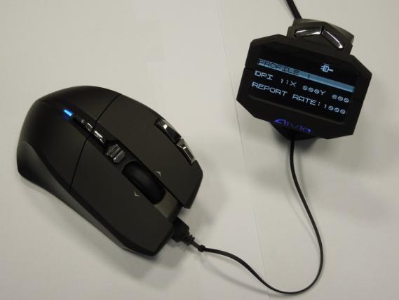 Gigabyte оснащает мышь Aivia Uranium внешним дисплеем