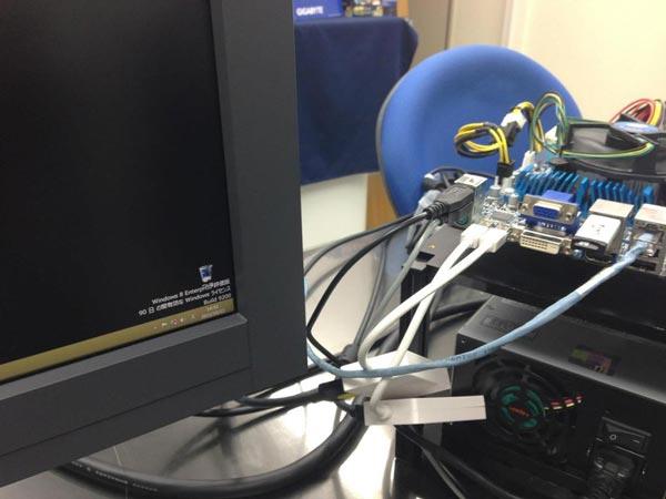 Gigabyte показала, что ее системные платы с портами Thunderbolt поддерживают дисплеи 4K