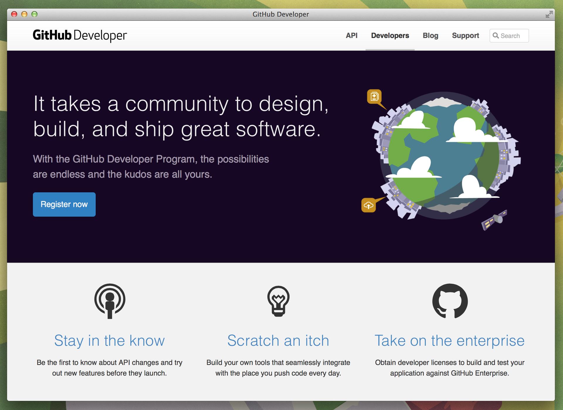 GitHub запустил Developer Program