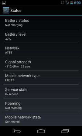 Google Nexus 4 таки может работать с LTE, но не везде
