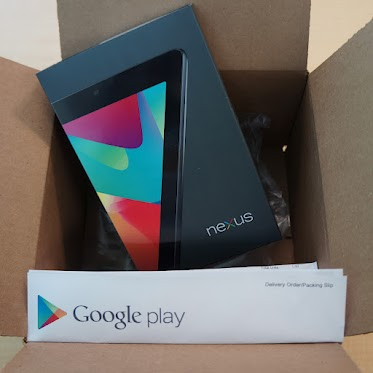 Google начал отгрузку планшетов Nexus 7