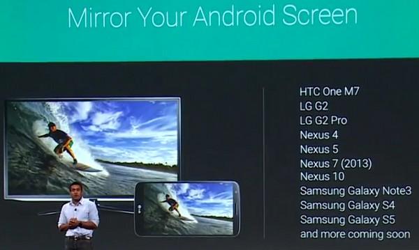 Google I/O Chromecast