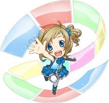 Инори Аизава, официальный талисман Internet Explorer