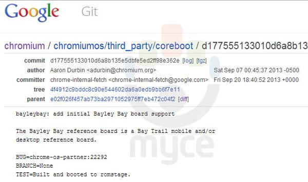 Google разрабатывает хромбуки на однокристальных системах Intel Atom (Bay Trail) и Nvidia Tegra