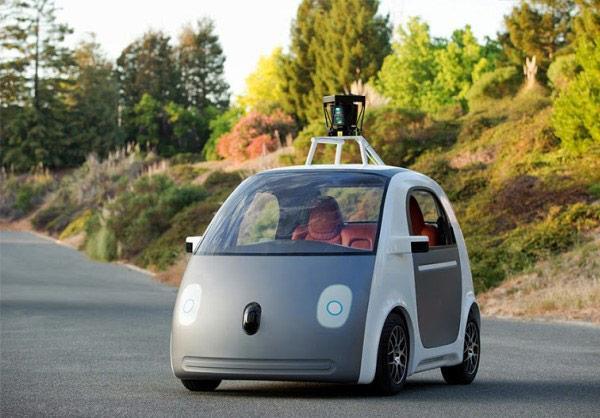 Google собирается выпустить автомобиль без руля и педалей