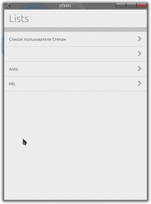 Google tasks для Ubuntu Touch