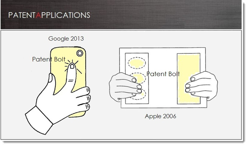 Google в гонке с Apple запатентовала сенсорное управление на панели смартфона