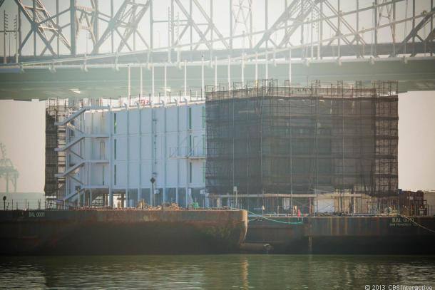 Google ведёт строительство плавучего дата центра в заливе Сан Франциско?